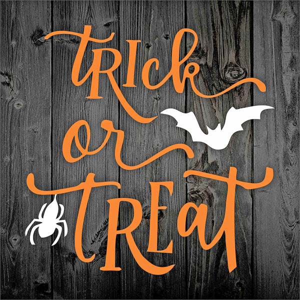Trick or Treat Halloween Stencil - Superior Stencils