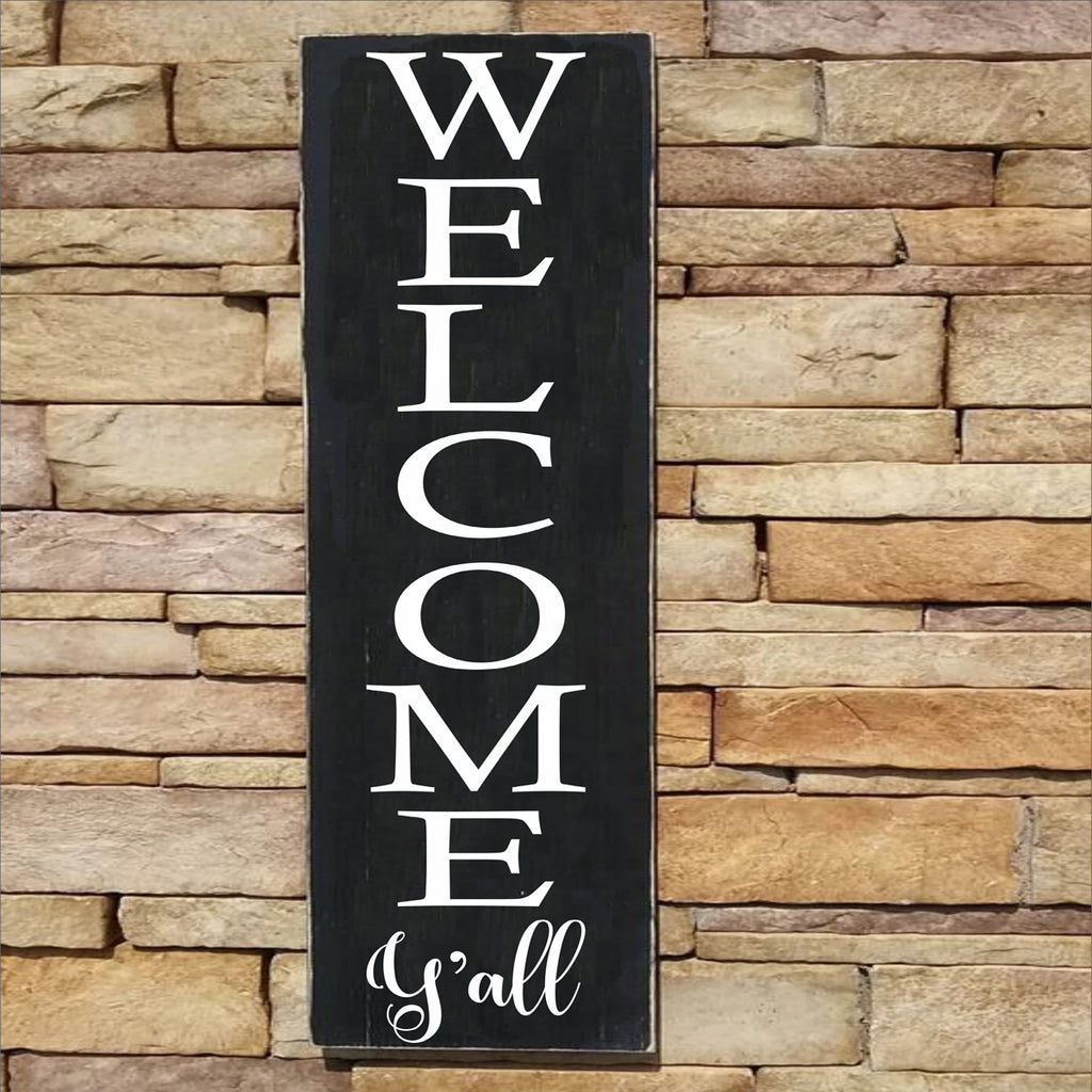 WELCOME Y'all Stencil - Superior Stencils