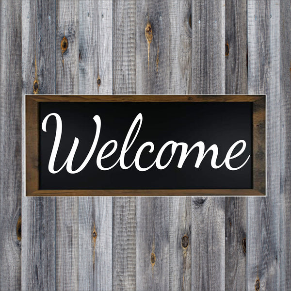 Welcome Stencil - Superior Stencils