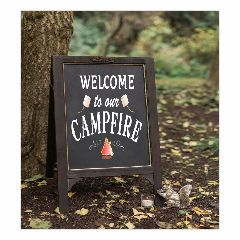 Welcome to our CAMPFIRE Stencil - Superior Stencils