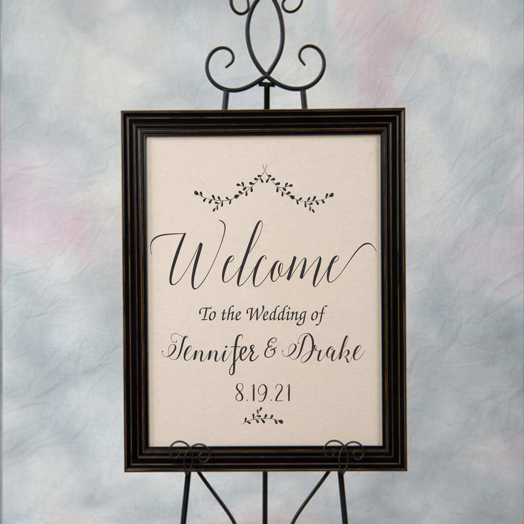 Custom Wedding Stencil - Wedding Sign Stencil - Superior Stencils