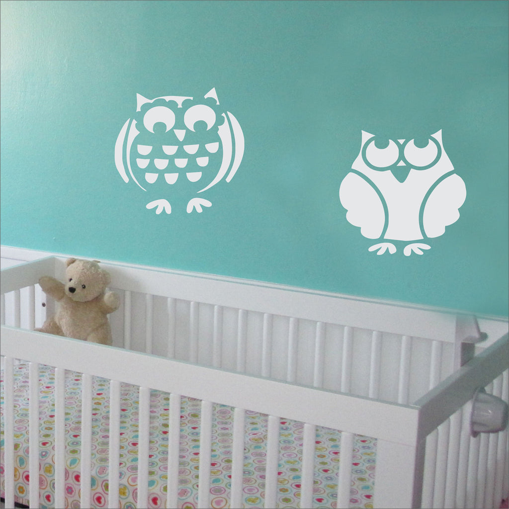 Owls Stencil Set of 2 - Superior Stencils