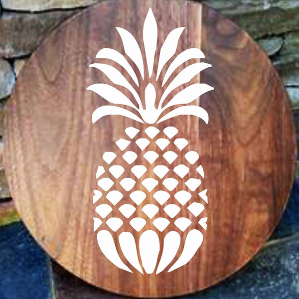 Pineapple Reusable Stencil - Superior Stencils