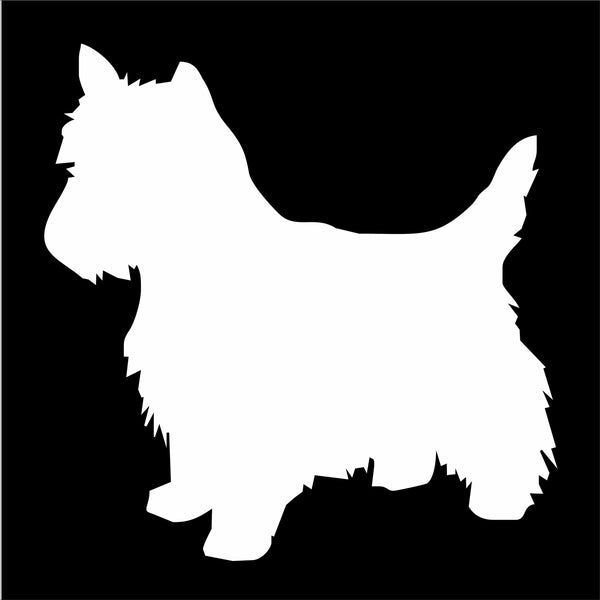 West Highland Terrier Dog Stencil - Superior Stencils