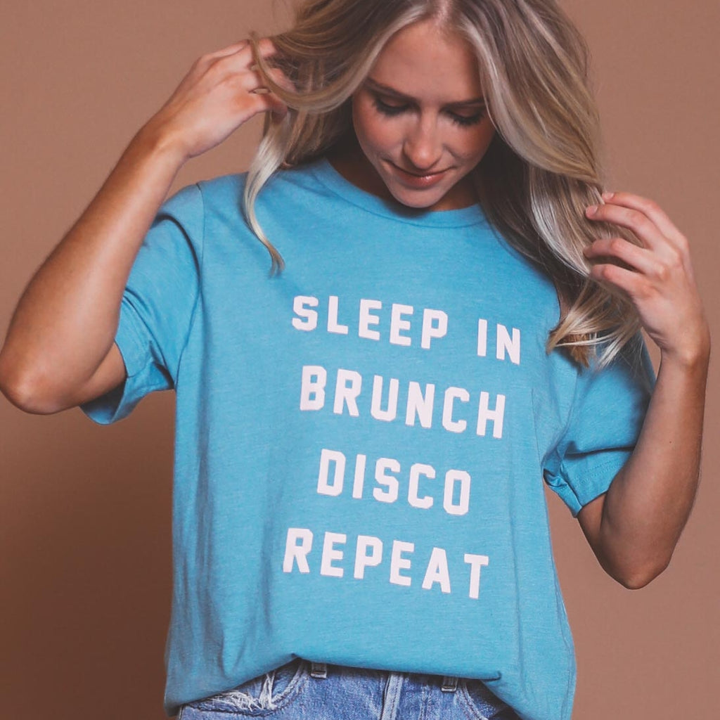 Eat Sleep Disco Repeat Tee