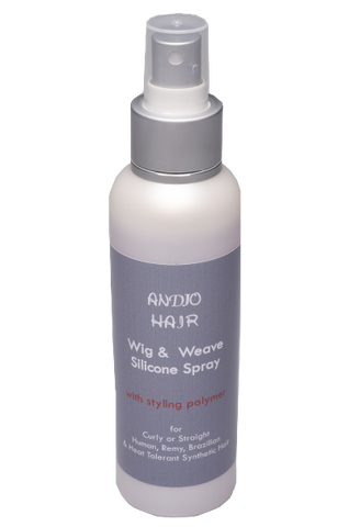 Wig & Weave Silicone Spray 125 ml - Wig & Weave Care - Andjo