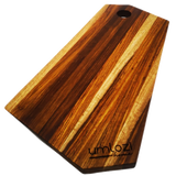 Edge Grain Serving / Cutting Board - Kiaat Wood Cutting Board - 38 x 19cm