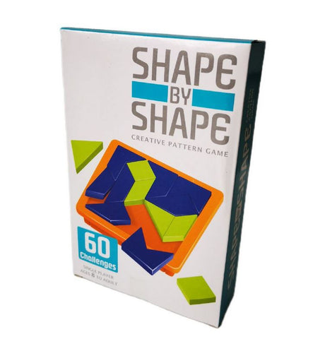 3D Puzzle Challenge - Shape by Shape - 60 Challenges