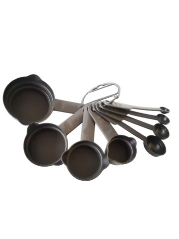 Measuring Cup and Spoon Set - 8 Piece