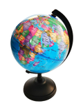 Political Globe with Stand - World Map