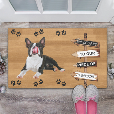 Liposo Custom Doormat Personalized Doormat Pet Doormat