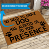 Liposo Custom Doormat Dog Doormat Personalized Doormat