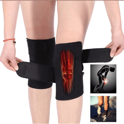 Self Heating Knee Support Pain Relief Wraps - Magnetic Therapy