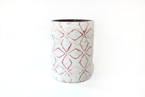 Red Utensil Holder