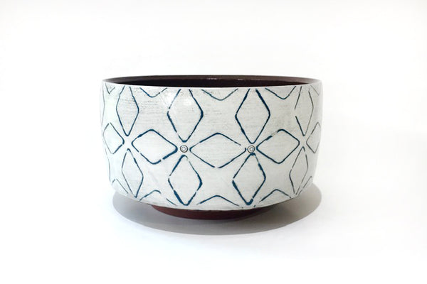 Small Blue Serving Bowl