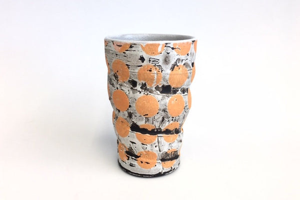 Blue and Orange Tumbler