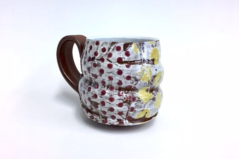 Yellow and Purple Mug