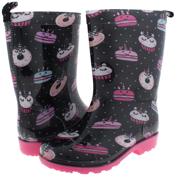 Girls Desserts Jelly Rain Boot
