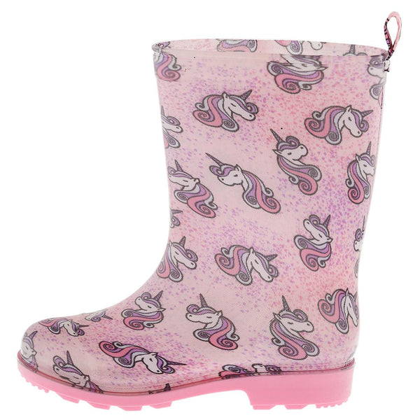 Girls Unicorn Jelly Rain Boot
