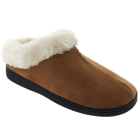 Ladies Faux Fur Clog Slipper