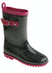 Girls Glitter Rain Boot