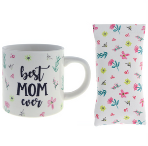 """Best Mom Ever"" Mug with Sunglass Pouch"