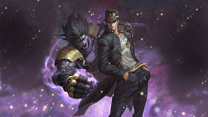 1 Strongest JoJo's Bizarre Adventure Characters - Jotaro with Star Platinum Over Heaven