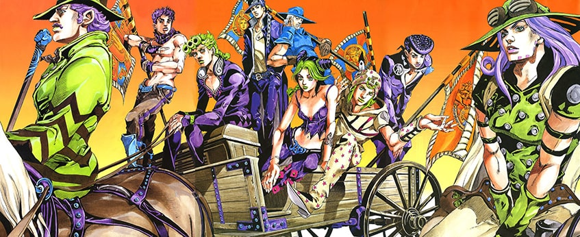 JJBA Golden Wind - Vento Aureo