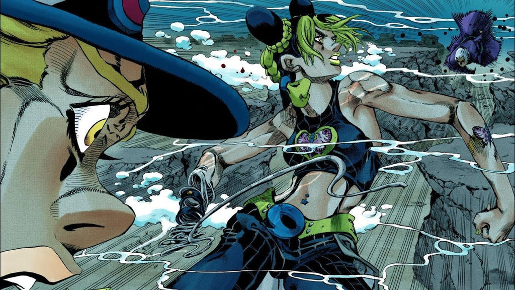 Jolyne Noble Sacrifice