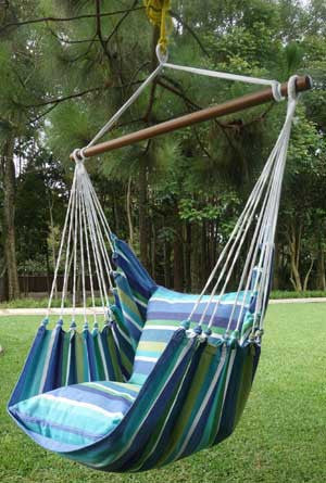 Hanging Hammock Chair - Aloha - 3