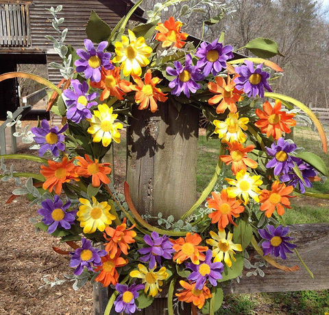 Aviva Wreath  - 24""
