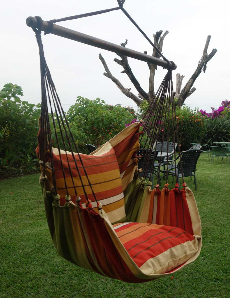 Hanging Hammock Chair Sea Horse Flora Decor