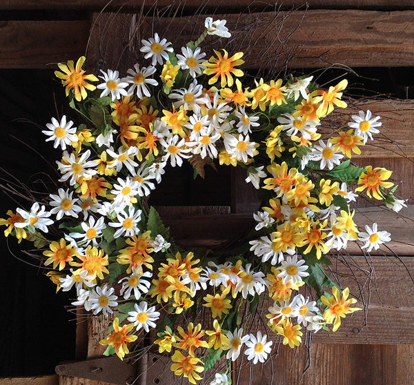 Field of Flowers Wreath  - 24""
