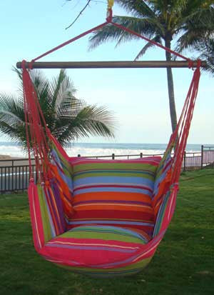 Hanging Hammock Chair - Going Coastal - 1