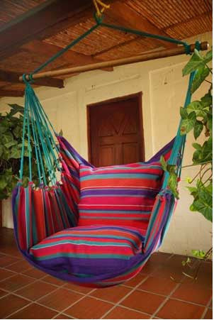 Hanging Hammock Chair   Sea Breeze   1