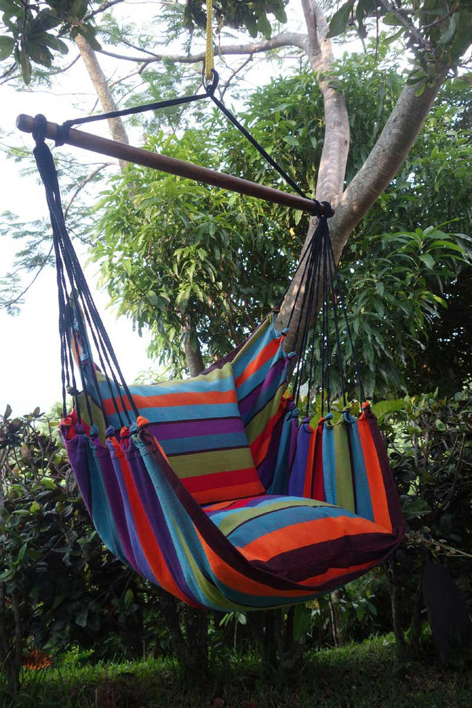 Hanging Hammock Chair Seas The Day Flora Decor