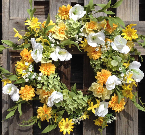Wild Meadows Wreath - 22""