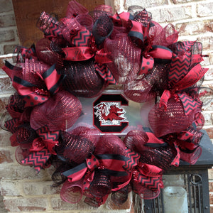South Carolina Game Cocks Collegiate Wreath - 26""