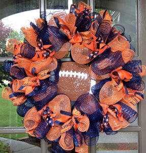 Auburn Tigers Collegiate Wreath - 24""