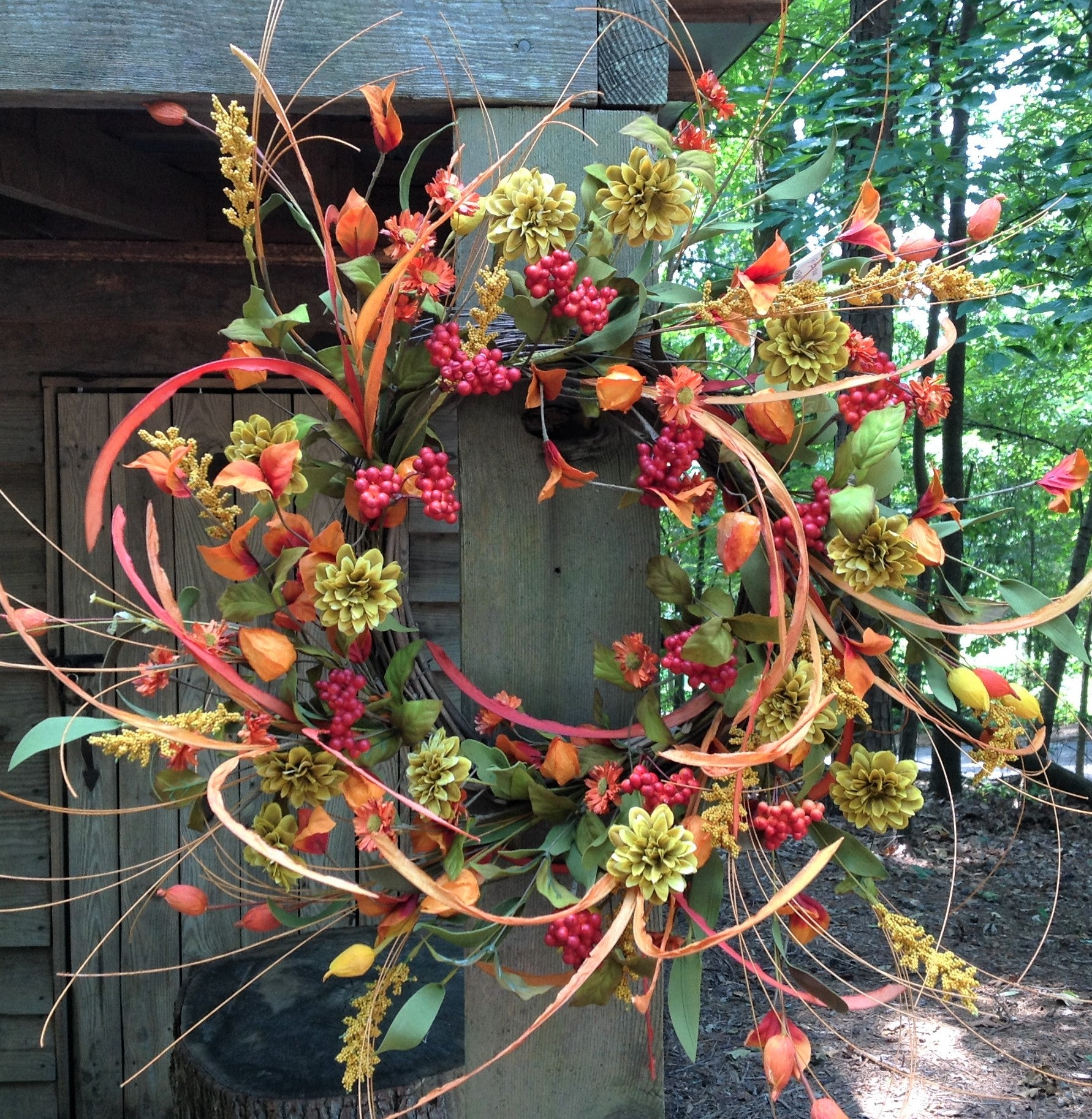 Wild Berry & Grass Wreath