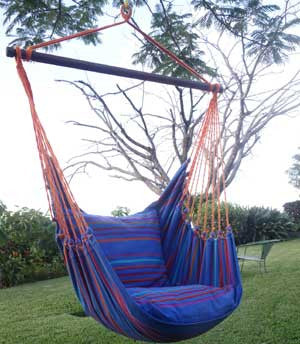 Hanging Hammock Chair -Relaxing Tides - 2