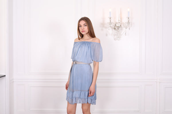 Cara Silk Dress