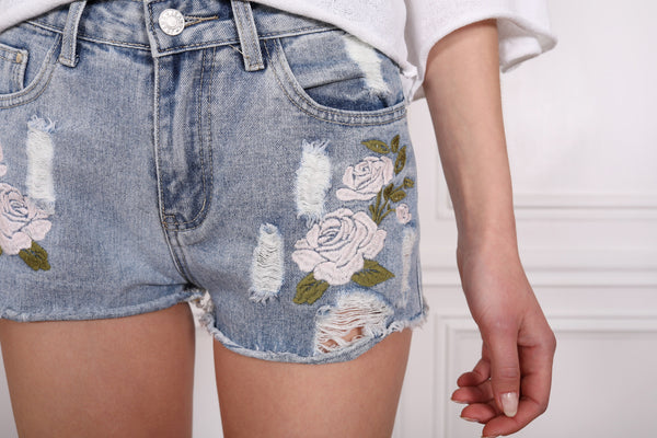 Flower Patch Shorts