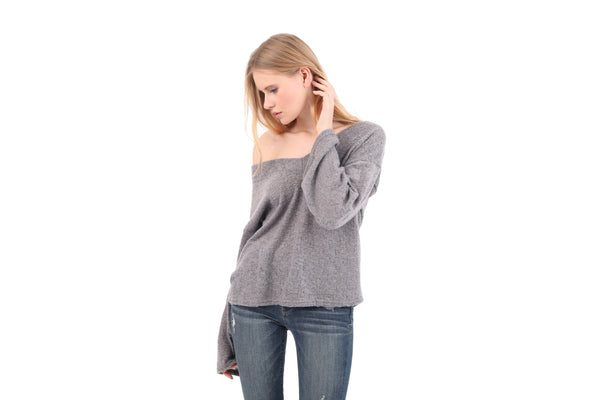 Soft Double V-Neck Sweater