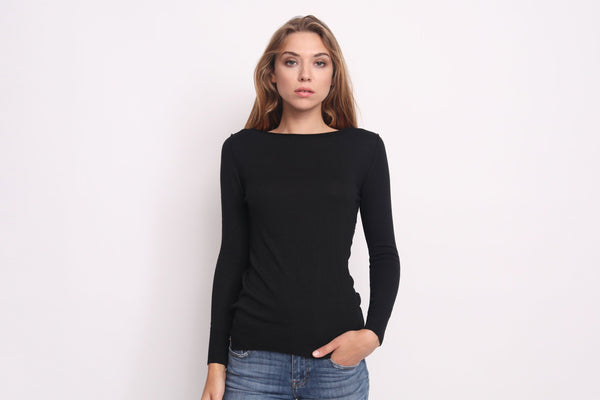 Italian Inside Out Seam Sweater