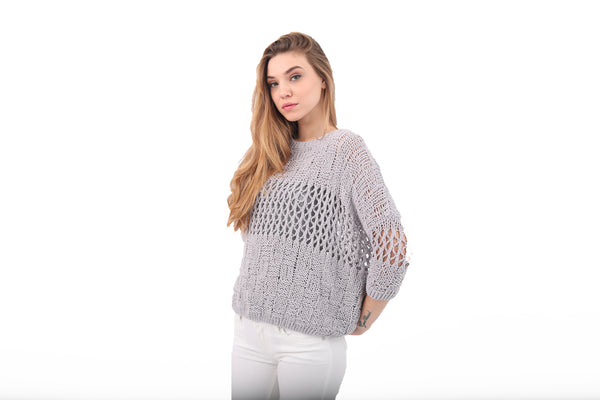 Knitted Chenille Sweater