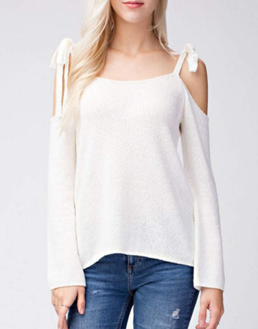 Tie Shoulder Top