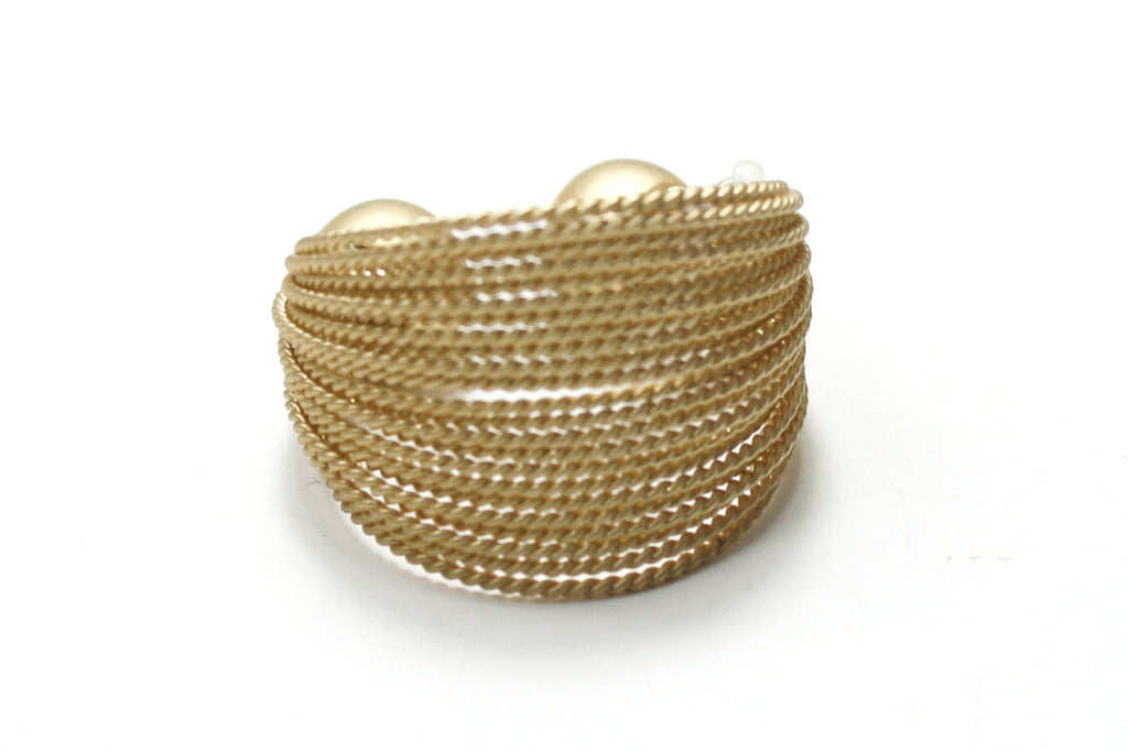 SLINGY RIBBED WIRE RING
