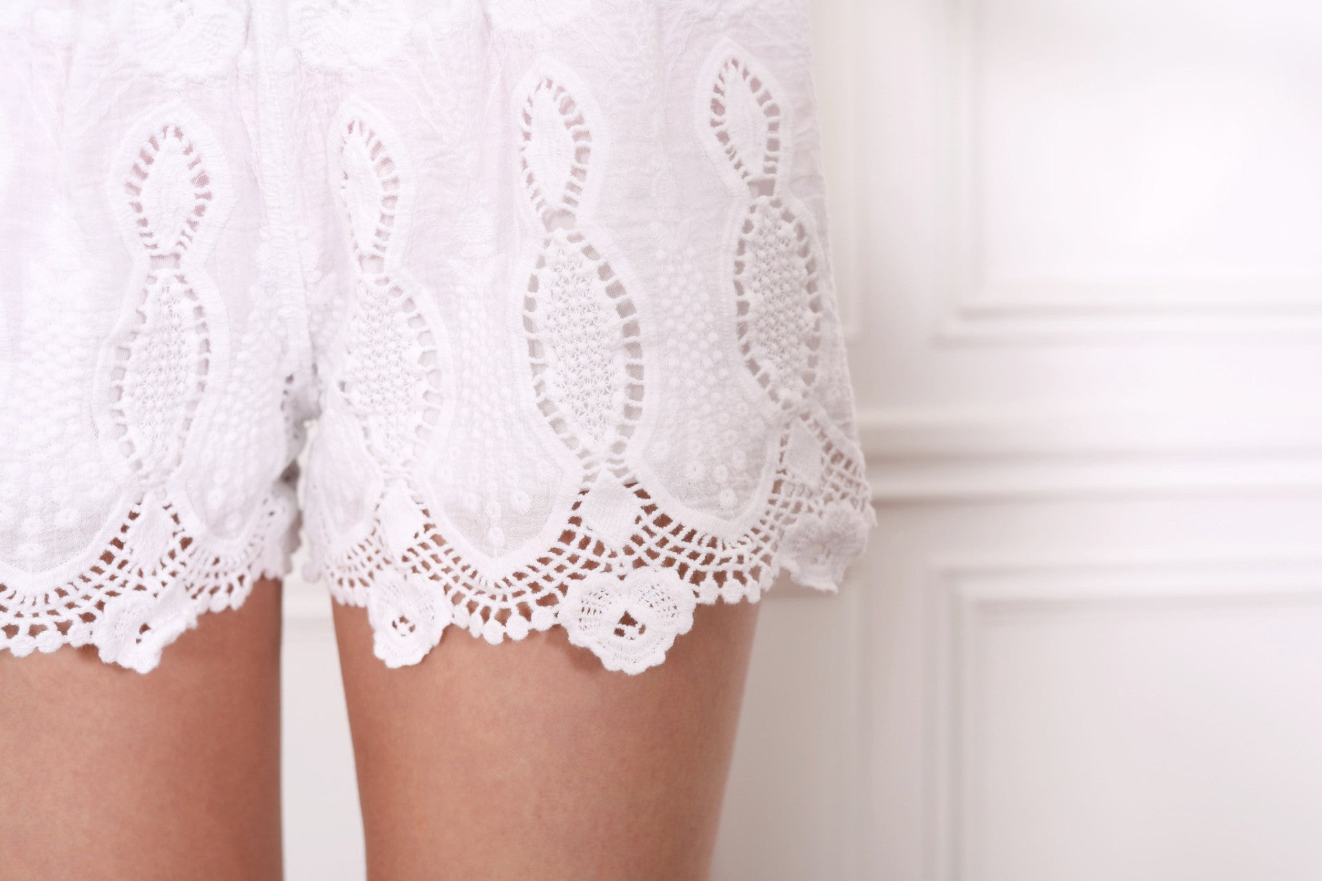 Adriana Embroidered Shorts