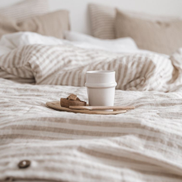 Oreck Blog: Hotel Life at Home. Learn how making small, luxurious changes can make a big impact on your comfort at home. Enjoy breakfast in bed like you would at a bed and breakfast.